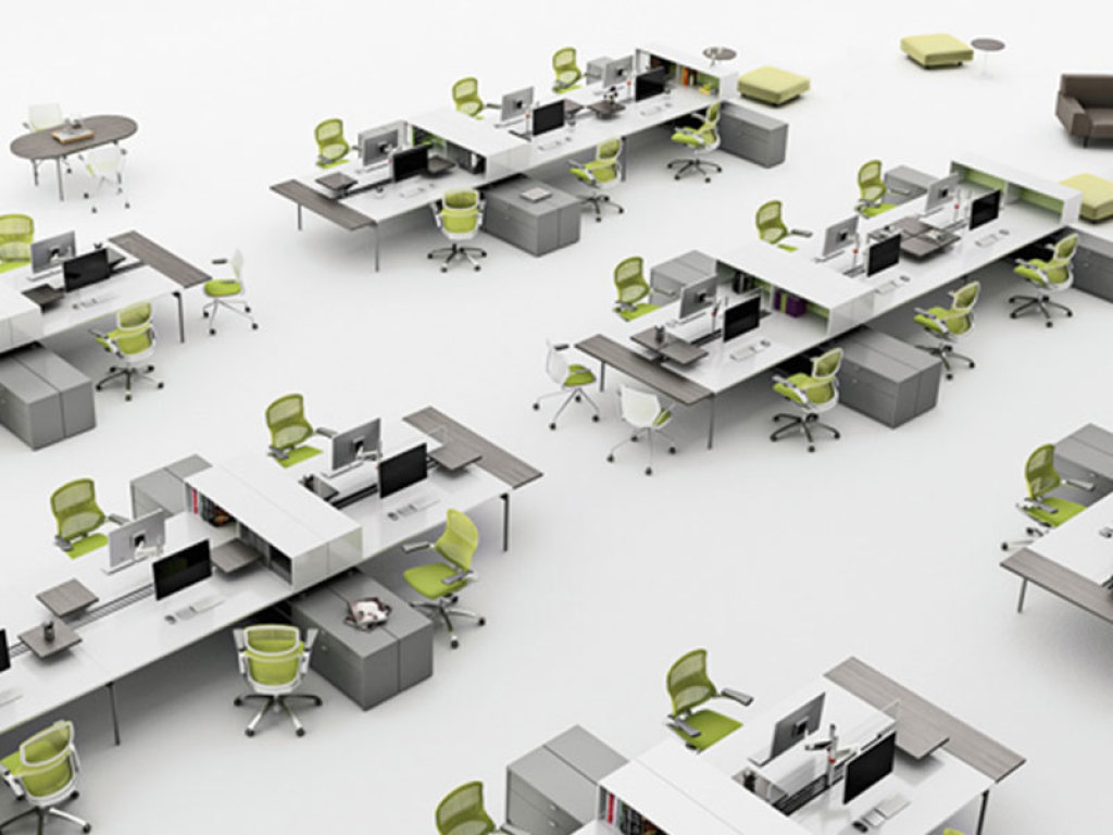 Office design layout tips planning ideas advice for Simple office furniture design