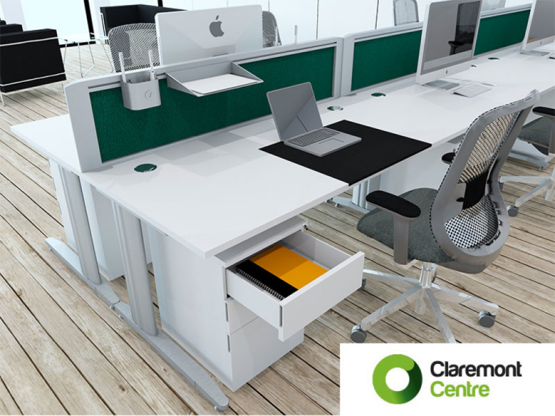 Claremont Office Furniture – Mix It Up with Framework