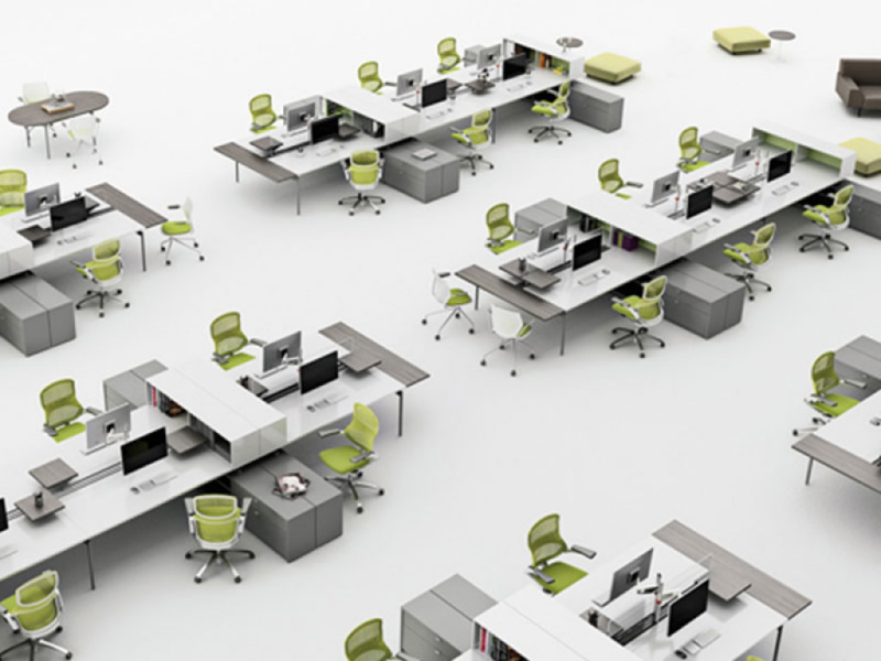 Office design layout tips planning ideas advice for Office arrangement ideas