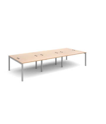 Connex Triple Back to Back Modular Desks