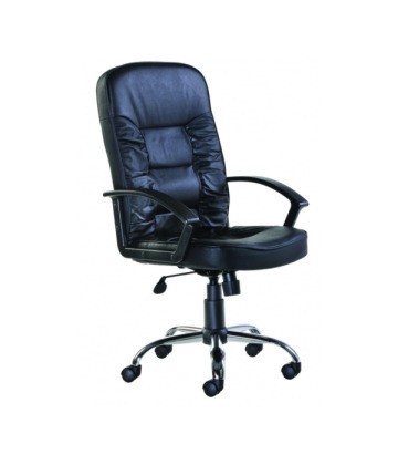 Hertford Leather Faced Managers Chair