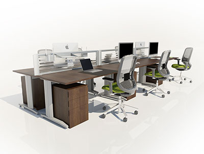 Claremont Office Furniture - Framework