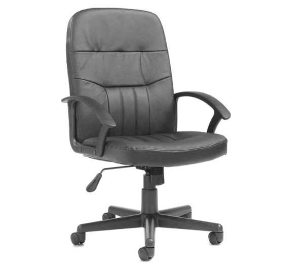 Cavalier Leather Faced Managers High Back Chair