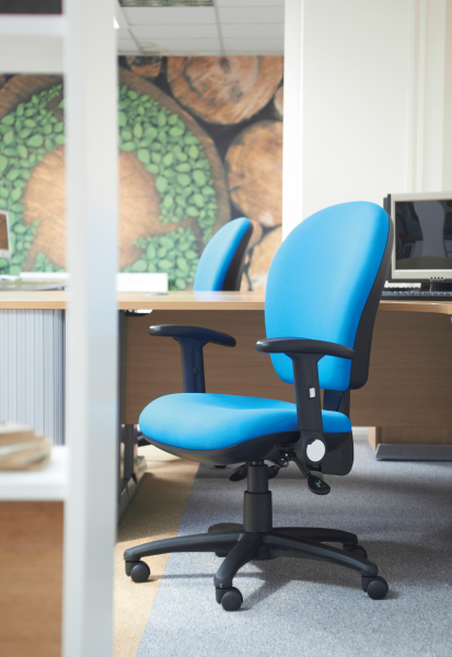 Lento Operators Chair Fabric Task And Operator Chairs