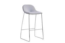 Medley Stool with sled leg frame