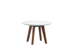 Conical leg table