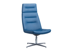Spin high back lounge chair